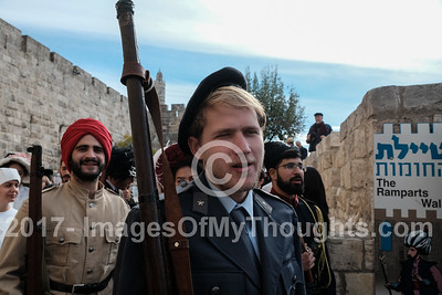 1917 Reenactment of Allenby's Entrance to Jerusalem