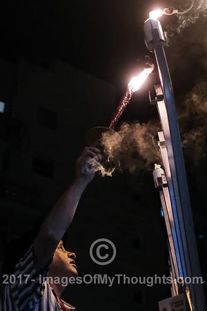 Hanukkah 2017 in Jerusalem, Israel