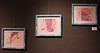 Art by students enrolled in Advanced Art Studio (ART 430) displayed in Memorial Hall's Gallery 239 April 14-28, 2017. (Photo by Kelsey R. Brummels/Chadron State College)
