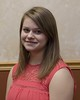 Chadron State College student Jessi Aufrecht has been accepted to Cleveland Chiropractics College. She was honored at a banquet April 13, 2017. (Photo by Tena L. Cook/Chadron State College)