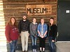 Chadron State College Social Work students pose during a tour of the Rosebud Reservation in South Dakota April 20, 2017. From left, Jessy Bale, Justin Hartman, Elizabeth Goodell, Lauren Newman and Kaitlyn Adrian. (Courtesy photo)