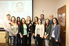 Chadron State College seniors in Social Work pose following their pinning ceremony March 22, 2017. Back row, from left, faculty member Bruce Hoem, Kiran Mand, Sara Royle, Jade Capezzuto, Robert Ricks, faculty member Rich Kenney. Front row, from left, Ame Woodbeck, Cierra Hermann, Darian Krysl, Krista Harris and Miranda Karn. (Courtesy photo)