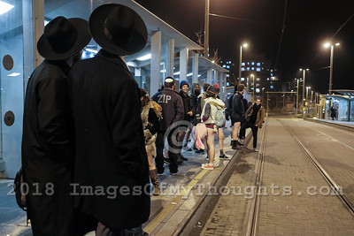 No Pants Tram Ride 2018 in Jerusalem, Israel