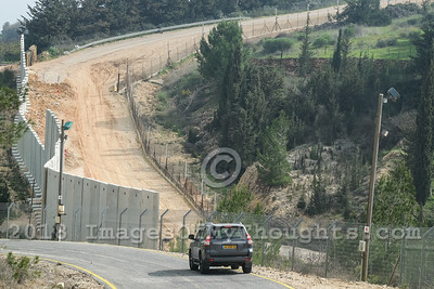 Security Preparations on Lebanese Border in Israel