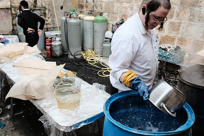 Passover 2018 Preparations in Jerusalem, Israel