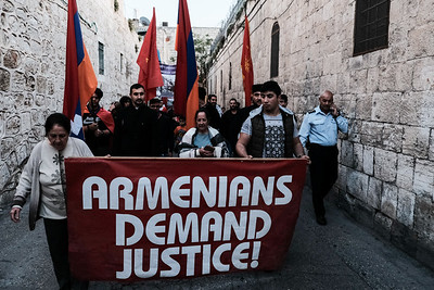 Armenian Genocide Commemorated in Jerusalem, Israel
