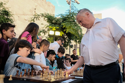 Chess Festival in Jerusalem, Israel