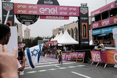 Giro d'Italia Big Start in Jerusalem, Israel