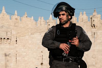 Palestinian Naqba Day in Jerusalem, Israel