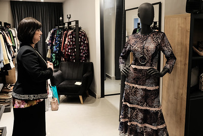 Women's Fashion in the Haredi World in Bnei Brak, Israel