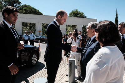 British Prince William Visits Israel