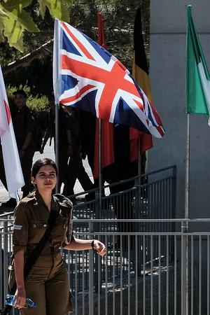 British Prince William Visits Israel