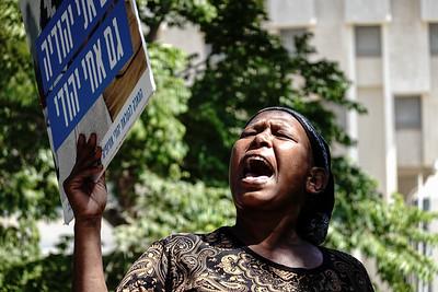 Ethiopian Israelis Demonstrate in Jerusalem, Israel