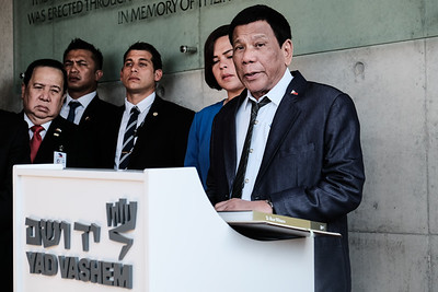 Philippine President Visits Israel