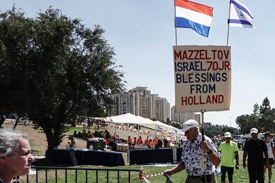Jerusalem Parade 2018 in Jerusalem, Israel