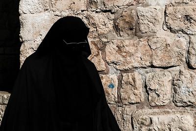 Muslim Quarter Old City Jerusalem, Israel