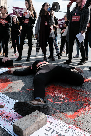 Women's Nationwide Strike in Israel