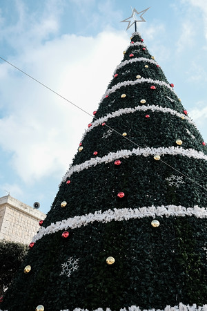 Christmas Preparations in  Fassouta, Israel