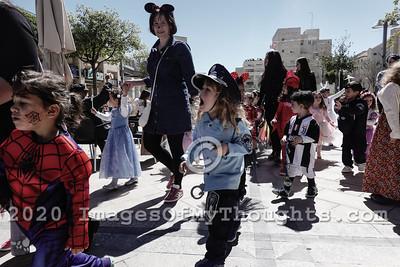 Purim 2019 in Jerusalem, Israel