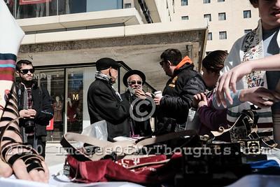 World Wide Wrap Day in Jerusalem, Israel