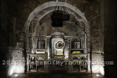 Prison of Christ Reopens in Jerusalem, Israel