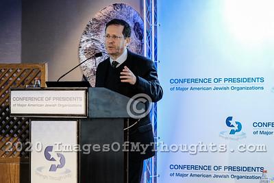 Conference of Presidents 2019 in Jerusalem, Israel