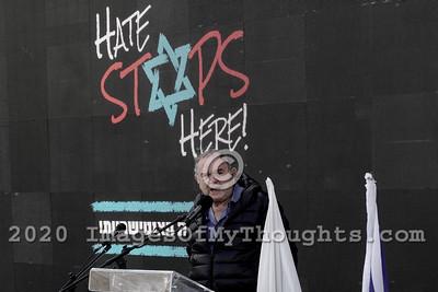 Antisemitism Rally in Jerusalem, Israel
