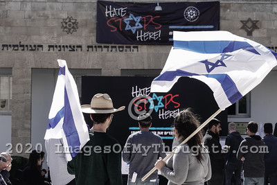 Antisemitism Rally in Jerusalem, Israel