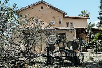 Israel Gaza Strip Escalation of Hostilities. Ashkelon, Israel.