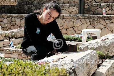Memorial Day 2019 in Jerusalem, Israel