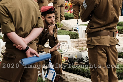 Memorial Day 2019 in Jerusalem, Israel
