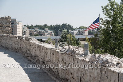 US Embassy Builds Controversial Fence in Jerusalem