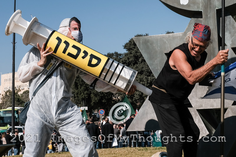 COVID-19: PROTESTS: Jerusalem