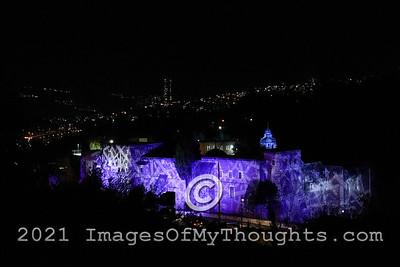 Follow The Lights in Jerusalem