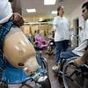 שלושה לוחמי חמאס בשיקום בבית החולים תל השומר:  זכריה אלראעי, <br /> המוסף לשבת