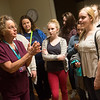 Globe/Roger Nomer<br /> Nancy Myers gives East Newton students, including Ashley Hobson, right, a tour of the birthing center on Tuesday at Freeman Hospital.