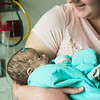 Globe/Roger Nomer<br /> Alex Duke holds her daughter Kyndall Clarkson on Jan. 28, 2017, at Mercy Hospital.