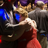 Globe/Roger Nomer<br /> Christi Pamperin, Pittsburg, dances with Jerad Letterman during Saturday's Joy Prom at the Barton County Strength Center in Lamar.