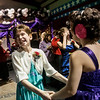 Globe/Roger Nomer<br /> Tamra West, 10, Lamar, left, dances with Payton Littlejohn, 13, Lamar, during Saturday's Joy Prom in Lamar.
