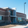 Globe/Roger Nomer<br /> The Public Safety Training Building is under construction.