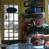 Globe/Roger Nomer<br /> Al Stewart, Fairbanks, Alaska, eats lunch on Monday at Nelson's Old Riverton Store in Riverton.