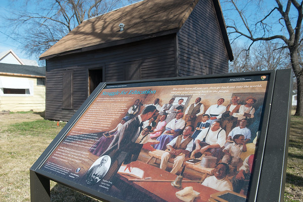 Globe/Roger Nomer<br /> The Carver Schoolhouse is located in Neosho.