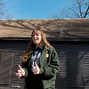Globe/Roger Nomer<br /> Lana Henry, management assistant at the Carver National Monument, talks about getting approval for the Carver Schoolhouse to be added to the National Register of Historic Places during an interview on Thursday at the schoolhouse.