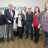 Surrounded by representatives of Mercy Hospital and the Joplin Elks Lodge 501, Elks Exalted Ruler Bruce Lais and Lady Elks President Chrys Corcoran hold a check for $1,800 which they presented to the Mercy Health Foundation on Wednesday at the Mercy Hospital Birthing Center. The funds will be used to provide car seats for those in need or those who have car seats damaged in accidents.   <br /> Globe | Laurie Sisk