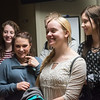 Globe/Roger Nomer<br /> Ashley Hobson takes a tour of the Freeman birthing center on Tuesday with East Newton classmates.