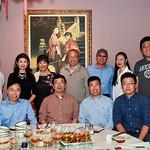 前排左起:王吉米,范朝亮,王坚,王志男。<br /> 后排左起:林然,姚苑,张燕,陈坚勇,吴重庆,刘红梅,李斌。