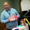 Stephen McCullough, emergency room enhancement coordinator with Ozark Center, talks about items to include in an emergency box on Monday at the Ozark Center Crisis Center.<br /> Globe | Roger Nomer