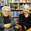 Globe/T. Rob Brown<br /> Lowell and Judy Mason, of Carl Junction, at their church's library.