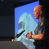 Globe/Roger Nomer<br /> Missouri State Highway Patrol Sgt. Mike Watson talks about the dangers of distracted driving during Tuesday's presentation at Con-way.