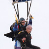 George Nettels Jr. embarks on a tandem skydive at age 84.